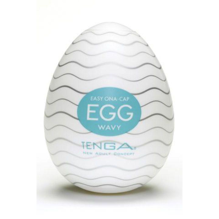 EGG-001 Мастурбатор яйцо Tenga egg Wavy
