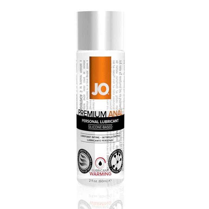 JO40105 Анальный возбуждающий лубрикант на силиконовой основе JO Anal Premium Warming, - 60 мл
