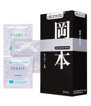 83706 Презервативы Okamoto Skinless Skin Super № 10