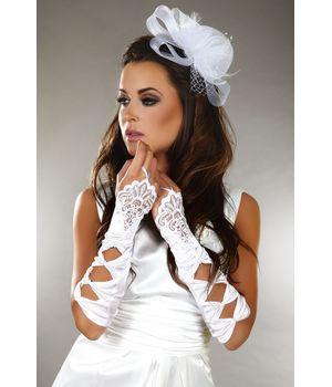 Lc_Gloves model 4 перчатки (белый)